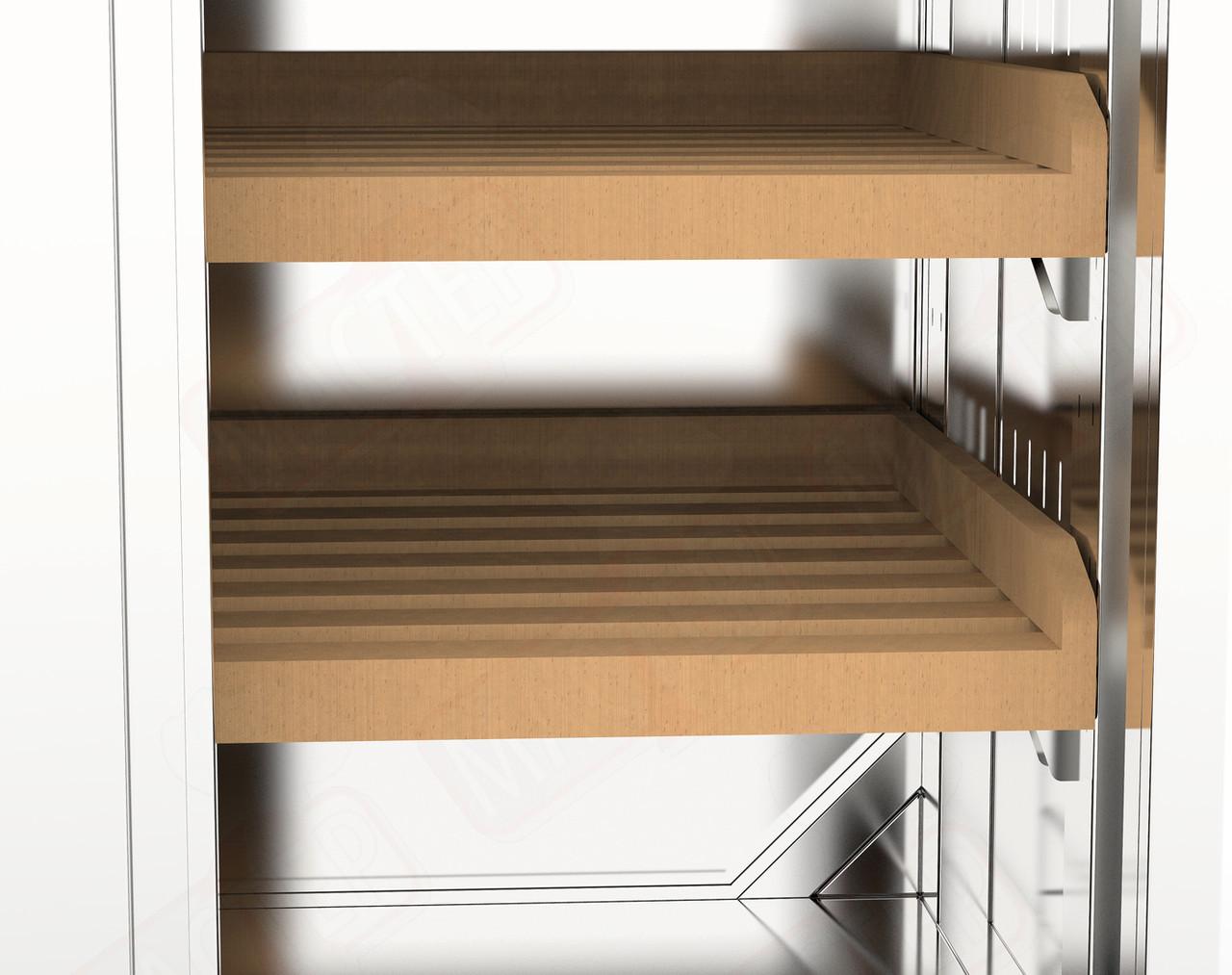 Копия Шкаф для хлеба  2 секц, двери распашные  ( 800*600*1800)