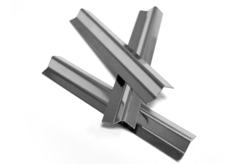 ODF-04-07-01-L2500 Відповідна планка магнітна (сатин), магнітний профіль для душових кабін