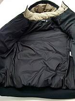 Мужская черная зимняя куртка , фото 3