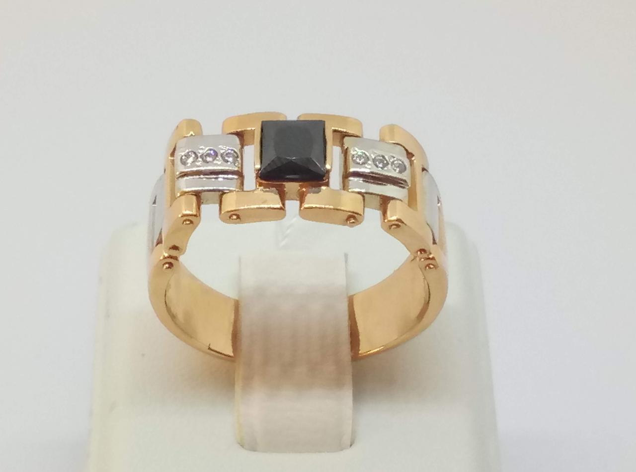 Золотое кольцо с фианитами. Артикул ПЧ044.010И 21