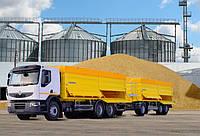 Зерновозы на уборку урожая, фото 1