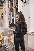 """Демисезонная женская куртка-ветровка """"KORS"""" с манжетами и карманами (2 цвета), фото 3"""