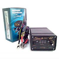 Зарядное  устройство ДНЕПР -6I 1-6А с цифровым индикатором (АКБ 4-75Ач 12в), (EURO-SPORT)