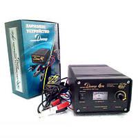 Зарядное  устройство ДНЕПР -6М 4-6А с стабилизатором (АКБ 4-75Ач 12в), (EURO-SPORT)