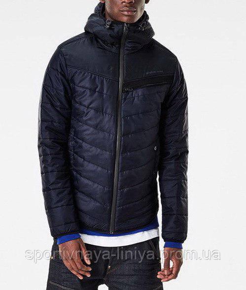 Мужская синяя демисезонная куртка