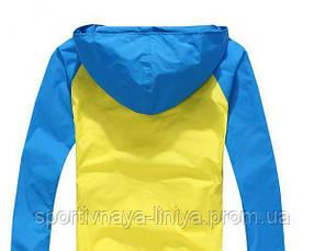 Мужская желтая демисезонная куртка (ветровка), фото 2