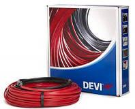Нагрівальний кабель двожильний із суцільним екраном низької потужності DEVIflex™ 6T 345 Вт, 60,0 м.