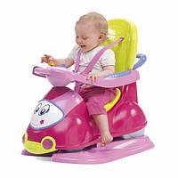 Машинка - каталка 4W1 CHICCO QUATTRO розовый