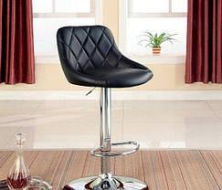 Барный стул табурет барний стілець кресло для кухни Hoker Rondo черный, фото 3