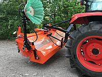 Щітка тракторна з бункером, фото 1