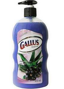 Gallus Handseife Жидкое мыло с дозатором Смородина Алое 650ml, фото 2