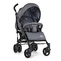 Прогулочная коляска-трость детская EL Camino rush ME 1013-11, серая