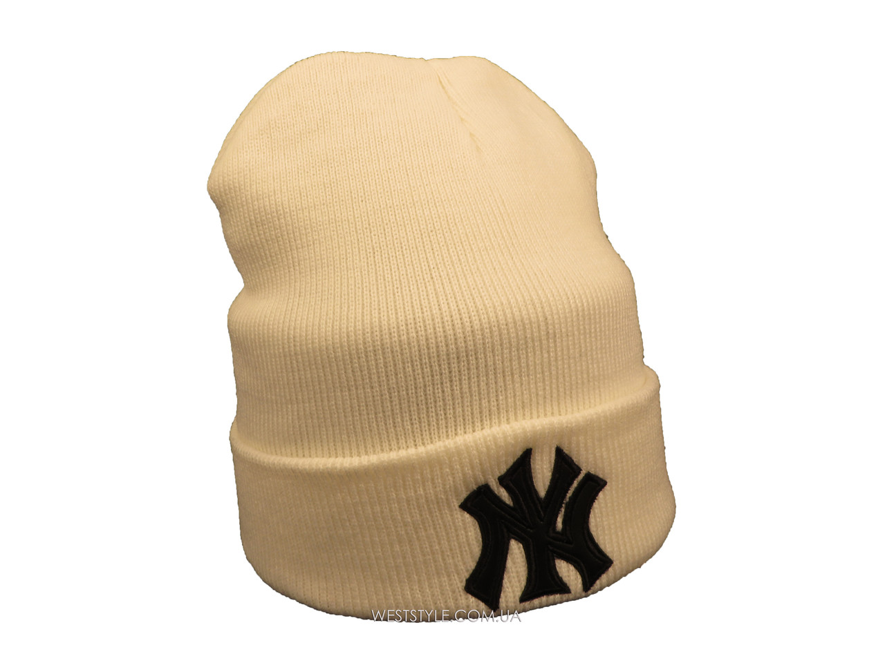 Белая шапка New York (реплика)
