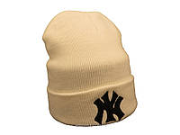 Белая шапка New York