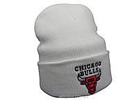 Белая шапка Chicago Bulls