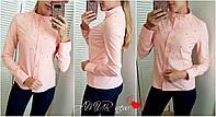 Блуза женская молодежная большие размеры 1507 СЕР-2, фото 1
