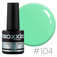 Гель-лак Oxxi Professional №104 мятный, 10 мл