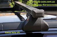 Поперечины Suzuki Jimny SUV 1998-2003 Alfa STL на продольные рейлинги/Поперечины Сузуки Джимни СУВ 1998-2003
