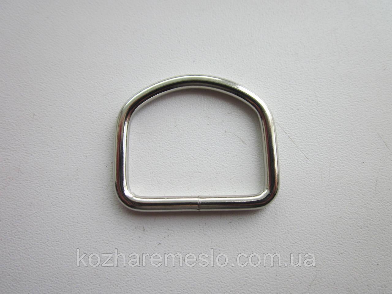 Полукольцо 3,5 х 30  х 25 мм никель