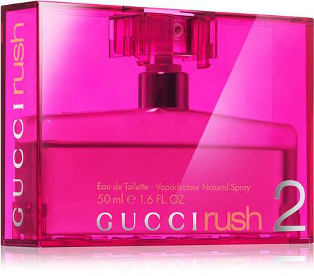 Духи женские Gucci Rush 2 75ml Парфюм Туалетная вода  Гуччи Раш 2 75 мл реплика, фото 2