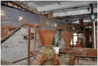 Восстановление комбикормового завода, замена дробилок