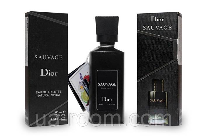 Мини-парфюм 60 мл. Christian Dior Sauvage, фото 2