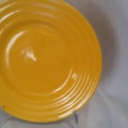 Тарілка мілка жовта  200 мм. CESIRO кераміка