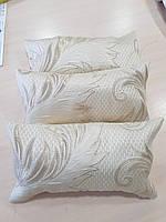 Комплект подушек  Беж с люрексом Листы 3шт