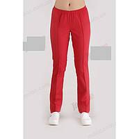 Медичні штани червоні