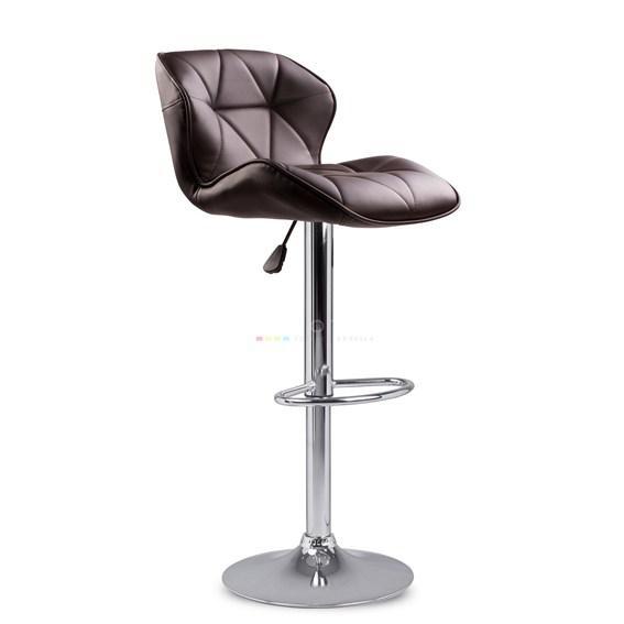 Барный стул табурет барний стілець кресло для кухни Hoker Castel темно коричневый