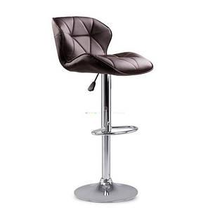 Барный стул табурет барний стілець кресло для кухни Hoker Castel темно коричневый, фото 2