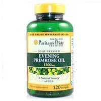 Evening Primrose Oil 1300 mg with GLA 120 капсул