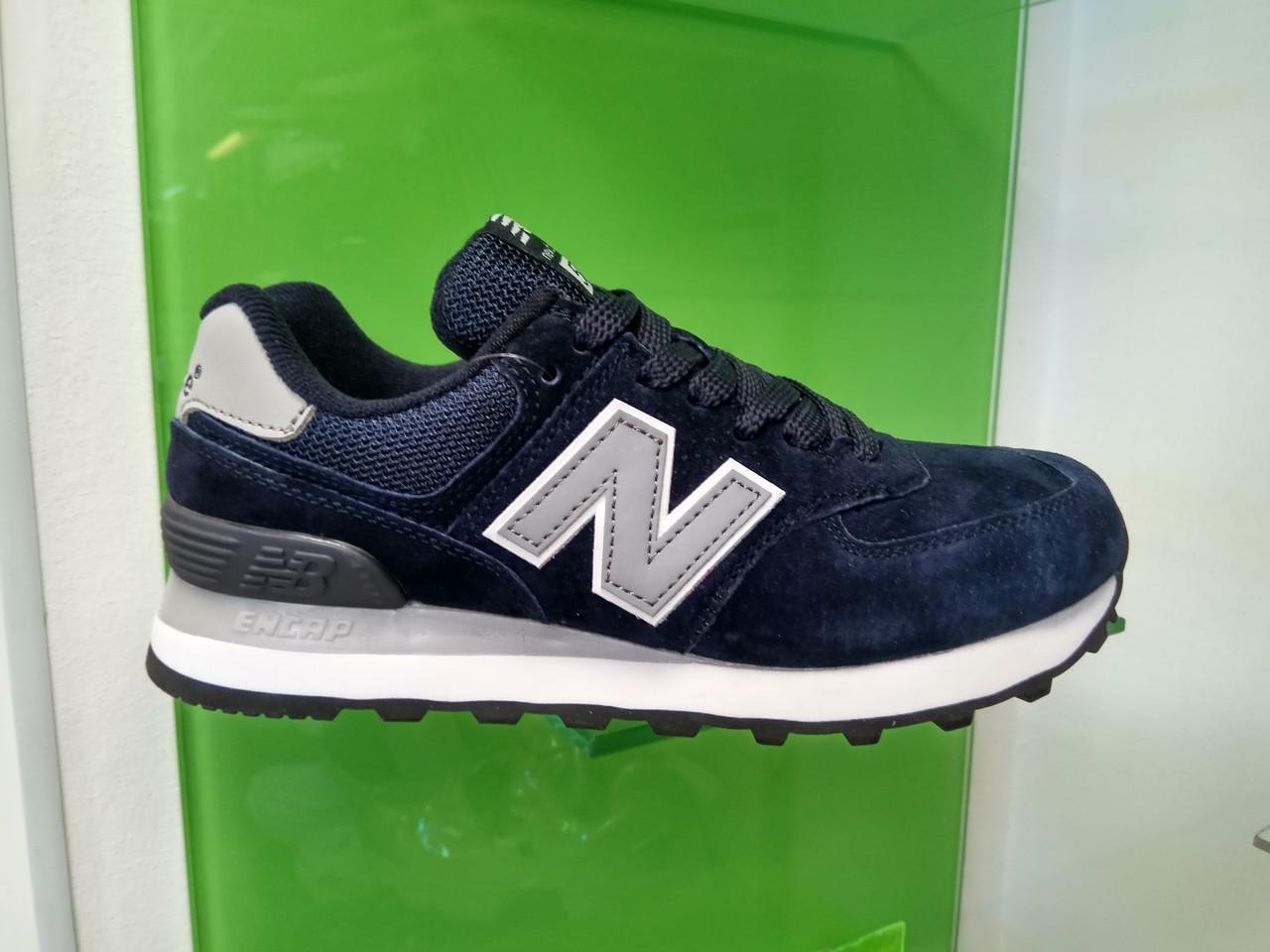 Жіночі кросівки New balance 574 blue