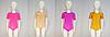 Купальник для гимнастики и танцев с коротким рукавом (цвет в ассортименте), фото 2