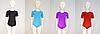 Купальник для гимнастики и танцев с коротким рукавом (цвет в ассортименте), фото 3
