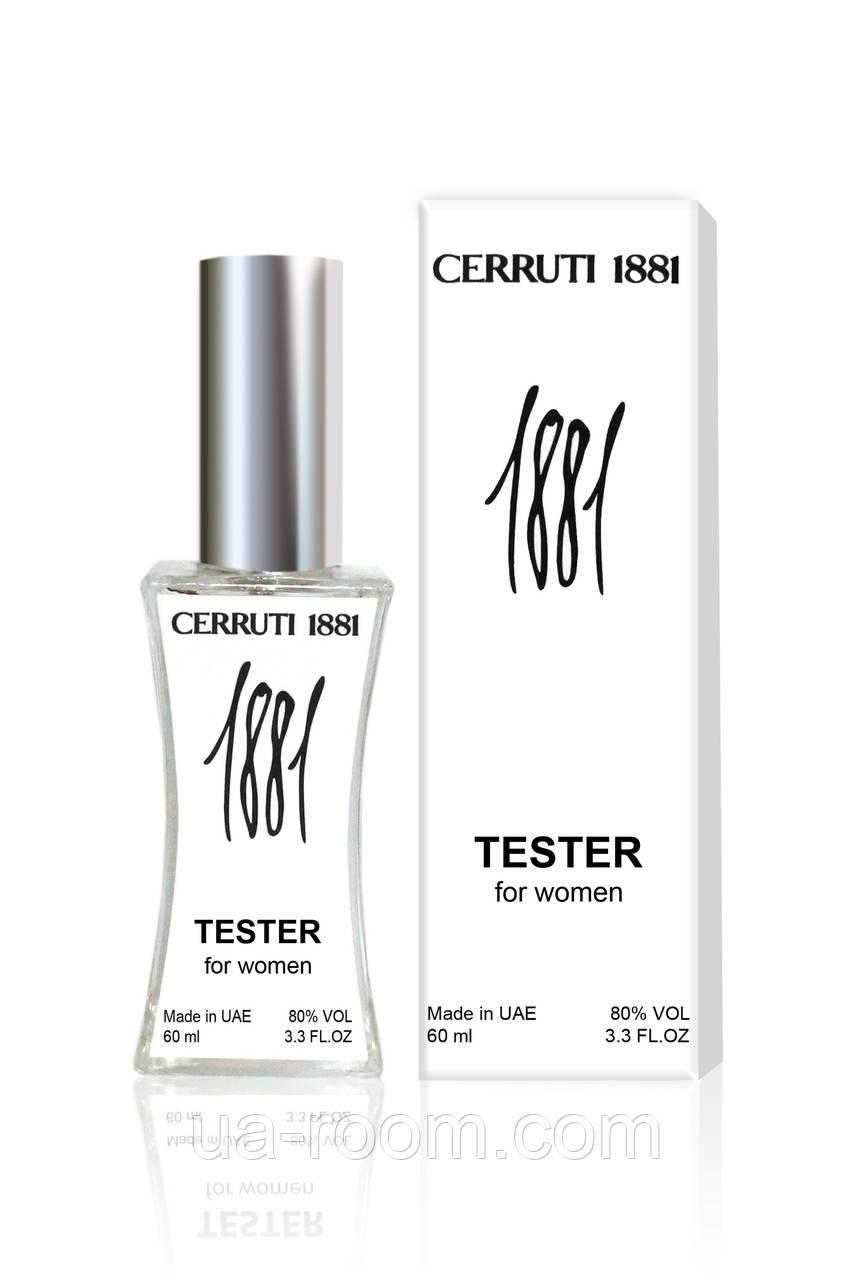 Тестер женский Cerruti 1881, 60 мл.