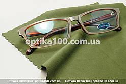 Салфетка микрофибра для очков, оптики. Зелёная (хаки). Премиальное качество