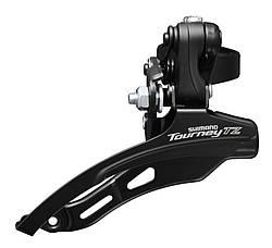 Переключатель передний Shimano Tourney FD-TZ510, под трубу 28.6 мм, 48T