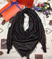 Платок Louis Vuitton черный, фото 1