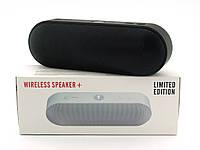 Beats Pill+ 6W копия, h2 bluetooth колонка с FM и MP3, черная