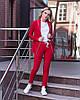 Женский брючный костюм с пиджаком 50KO780