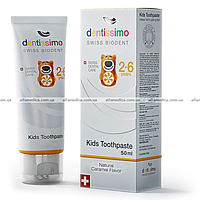 Зубная паста для детей Dentissimo Kids With Caramel Aroma (2-6 лет), 50мл