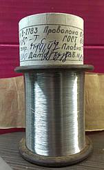Нихромовая нить 0,1 мм х20н80 для электронных сигарет