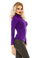 Гольф женский вискоза 027 (42/46 универсал) (цвет фиолетовый) СП