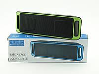 Портативная колонка UKC SPS SC-208BT Mega Bass 6W с FM, зеленая