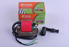 Катушка зажигания с надсвечником для мопеда Delta/Alpha - Premium
