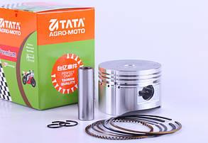 Поршневой комплект 52 мм для мопеда Act/Del/Alpha 110cc - Premium