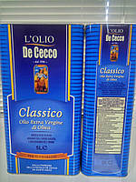 Оливковое масло De Cecco Classico канистра 5л