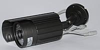 Камера наружного наблюдения с креплением серого цвета, фото 1