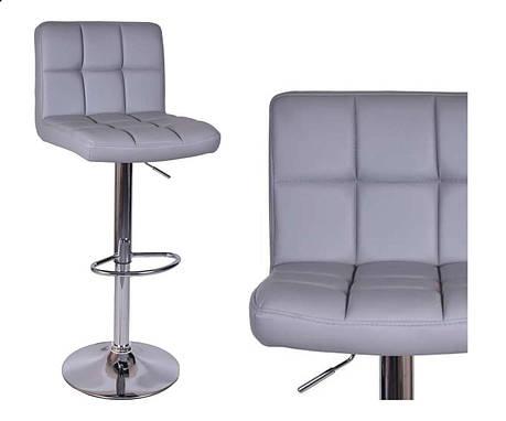 Барный стул табурет барний стілець кресло для кухни Hoker серый, фото 2